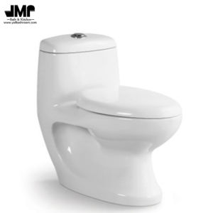 Sanitary Ware Wc Washdown One Piece Ceramic Toilet pictures & photos