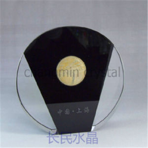 Round Crystal Award for Keepsake Decoration