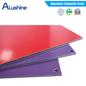 External Cladding Panel, Class A2 Fire Resistant Aluminium Composite Panel, PVDF/PE Coated ACP pictures & photos