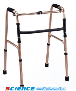 Folding Moveable Walker for Disable Adult Without Wheels Sc-Wk04 (A) pictures & photos