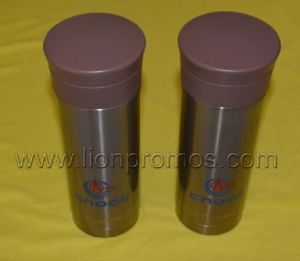 Cnooc Logo Printed Oil Company Promotional Gift Thermos Bottle pictures & photos