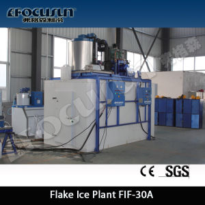 Chemical Mixing Industry Cooling 50ton Flake Ice Machine pictures & photos
