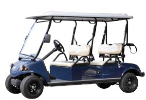 Electric Golf Car/Cart/Buggy, Sightseeing Car, Utility Vehicle (DEL3042GS, 4-Seater) pictures & photos