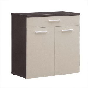China Two Door Cabinet Wooden Melamine Office Credenza