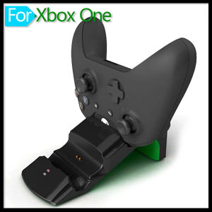 2 Gamepad Batteries & USB Charge Cable Dual Charger Dock Station for Microsoft xBox One Controller Game Accessories pictures & photos