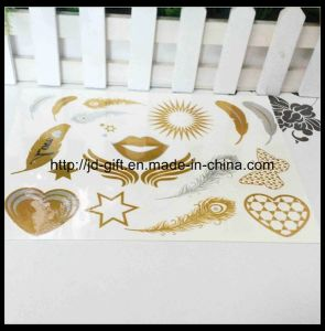 Hot New Products for 2015, Metallic Temporary Tattoo Sticker, Safe and Non-Toxic pictures & photos