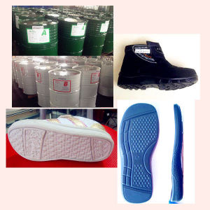 PU Resin for Shoe Sole with The Upper Zg-P-5006/Zg-I-5012 pictures & photos