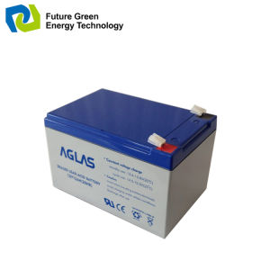 12V 5ah Maintenance Free Acid Sealed AGM UPS Battery pictures & photos