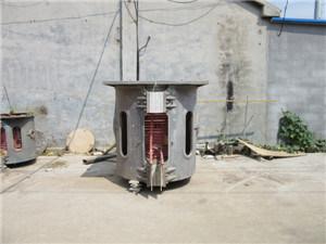 Cast Iron Aluminum Melting Electric Induction Furnace