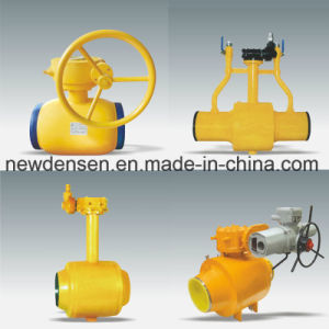 Provide OEM Buried Welded Ball Valve pictures & photos