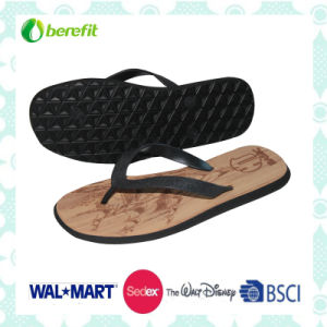 PVC Upper and EVA Sole, Men′s Slippers pictures & photos