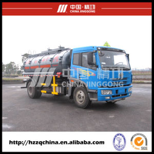 Chemical Tanker Trailer in Safe Delvery, Fuel Tank Truck (HZZ5164GHY) pictures & photos