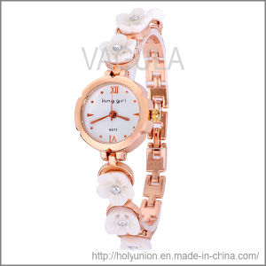 VAGULA Fashion Watch Bracelet with Flower (Hlb15671) pictures & photos