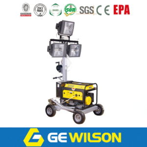 3*1000W Outdoor Portable Light Tower Generator, Mobile Light Tower pictures & photos