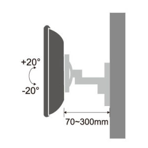 LCD TV Wall Bracket TV Mount Suitable for 13 to 27 Inch Screen / Montaje De LCD pictures & photos