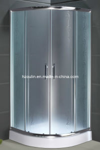 Tempered Glass Walk in Sliding Door Shower Room (AS-909) pictures & photos