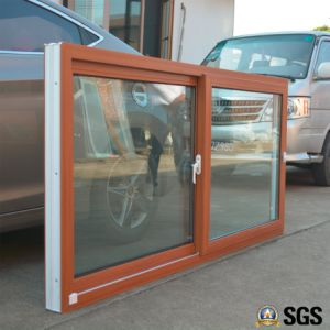 Colourful UPVC Profile Sliding Window, UPVC Window, Window K02090 pictures & photos