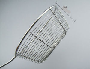 18cm Thicken Stainless Steel Line Strainer with Steel Handle (XD-0012) pictures & photos