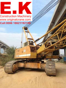 80ton Secondhand Liebhe Hydraulic Construction Machinery Crawler Crane (LR1000) pictures & photos