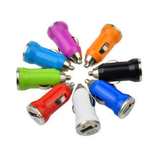 New Arrival Competitive Price Colorful Compact Car Charger 1 USB Port Made in China pictures & photos