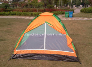 190t Polyester Camping Tent for 2 Persons (JX-CT014) pictures & photos