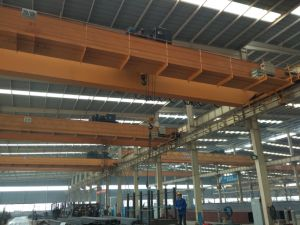 Steel Structure Workshop Used High Quality Double Girder Overhead Crane pictures & photos