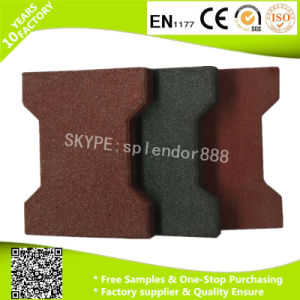 Bone Shape Rubber Mats for Horse Stable Flooring pictures & photos