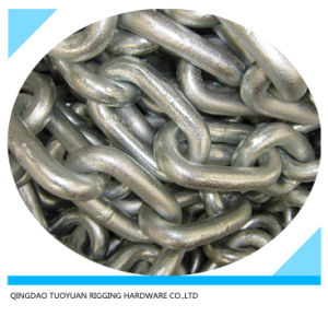 DIN766 Welded Link Chain Galvanzied pictures & photos