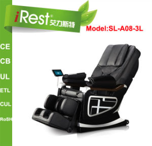 Luxury 3D Massage Chair with Video Player and Controller (SL-A08-3L)