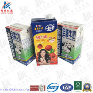 Aseptic Packaging Material for Liquid Food pictures & photos