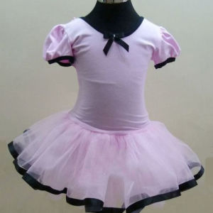 High Quality Girl′s Pink Leotard Dance Ballet Tutu Dress pictures & photos
