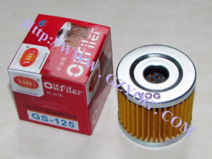 Motorcycle Oil Filter Gn-125 pictures & photos