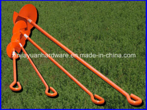 Hot DIP Galvanized and Power Coated Earth Anchor pictures & photos