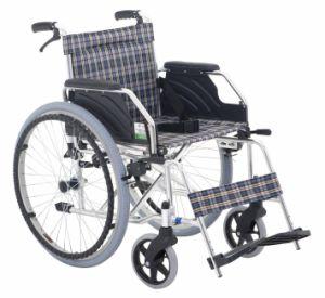 Movable Armrest Aluminum Wheelchair