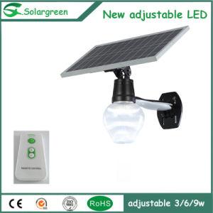 Solargreen Outdoor 6-12W Motion Sensor LED Solar Street Garden Light pictures & photos