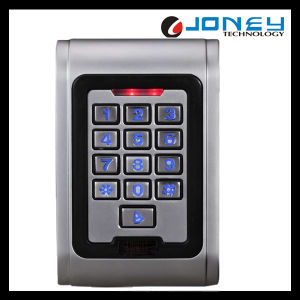 Waterproof Proximity Wiegand 125kHz/13.56MHz RFID Reader Standalone Access Control for One Door pictures & photos