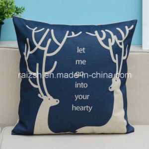 England Home Textiles Printing Cotton and Linen Cartoon Pillow Cover Cushion pictures & photos