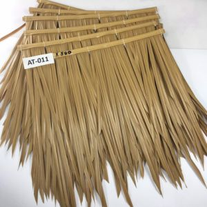 Fireproof Artificial Thatch Synthetic Thatch Plastic Palm Thatch Roofing Resort pictures & photos