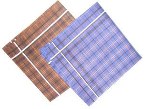 100% Cotton Border Handkerchief/Cotton Handkerchief pictures & photos