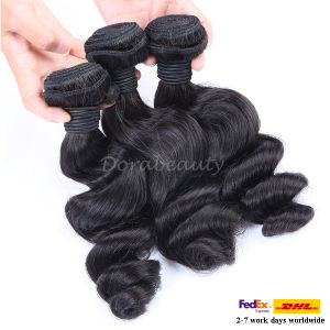 Top Quality Peruvian Loose Wave Hair Extensions pictures & photos