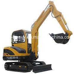 Hot Sale Yc35-8 Hydraulic Crawler Excavator (0.12m3) pictures & photos