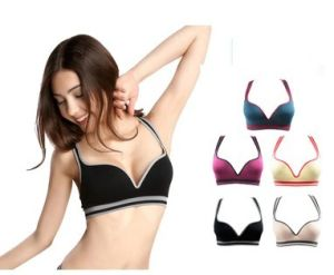 Leisure Yoga Sports Bra H Back Without Rims Padded Bra pictures & photos