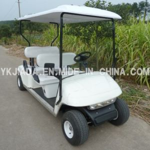 Manufactory High Quality 4 Seat Electric Golf Buggy (JD-GE502A) pictures & photos