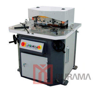 Hydraulic Notching Machine / Adjustable Angle Cutting Machine / Angle Notcher /Durama Hydraulic Notcher pictures & photos