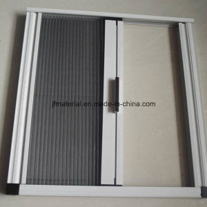 Gray or Black Color Pleated Fly Screen Plisse Insect Screen pictures & photos