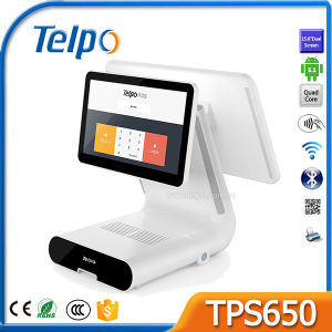 Telpo TPS650 Supermarket Touch Screen POS Cash Register with 80mm High Speed Thermal Printer