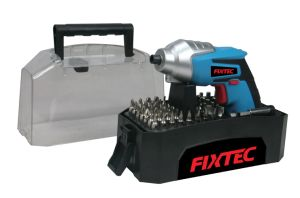 Fixtec Latest 4.8V DC Motor Mini Cordless Drill Screwdriver with Set pictures & photos