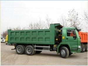 HOWO 6X4 Tipper 336HP Euro II Emission Dumper (ZZ3257N3447A1/NOWA) pictures & photos