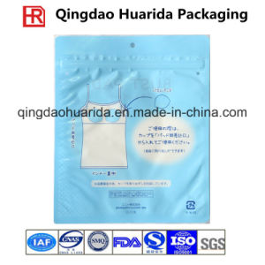 Wholesale Durable Packaging Underwear Plastic Bag/ Garment Pouch pictures & photos