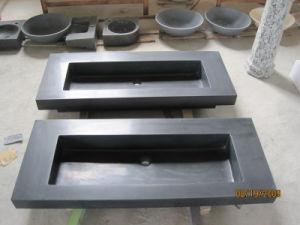 Black Basalt Sink, Stone Vanity Sink, Black Basalt Basin pictures & photos